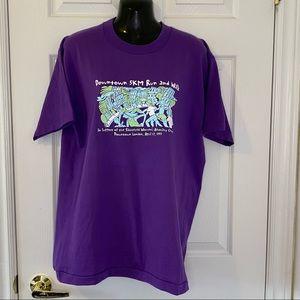 Vintage T Shirt Downtown London 5k Walk & Run 1997